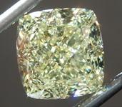sold....3.25ct Yellow VVS2 Cushion Cut Diamond R8780