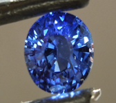 SOLD....1.40ct Blue Oval Shape Sapphire R8781
