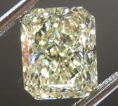 SOLD....3.33ct W-X VVS2 Radiant Cut Diamond R8784