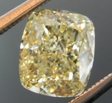 SOLD....1.40ct Yellow IF Cushion Cut Diamond R8827