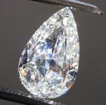 1.14ct G SI1 Pear Shape Diamond R8830