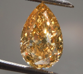 SOLD....2.06ct Brown-Yellow SI1 Pear Shape Diamond R8835