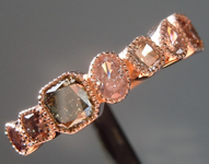 SOLD...1.20ctw Fancy Colored Diamond Ring R8770