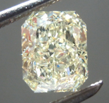SOLD....1.20ct Y-Z VVS1 Radiant Cut Diamond R8863