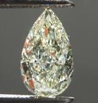 1.09ct U-V VS2 Pear Shape Diamond R8848