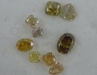 SOLD....1.05ctw Fancy Color Diamond Parcel R8873