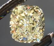 SOLD...2.02ct Y-Z I1 Cushion Cut Diamond R8880