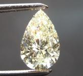 SOLD...1.15ct U-V VVS2 Pear Shape Diamond R8897