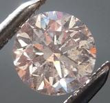 0.54ct Q-R (Brown) I1 Round Brilliant Diamond R8883