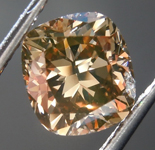 1.60ct Brown VS Cushion Cut Diamond R8924