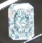1.76ct Green VS1 Radiant Cut Diamond R8959