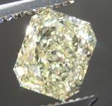 SOLD....1.50ct Y-Z VS1 Radiant Cut Diamond R8957