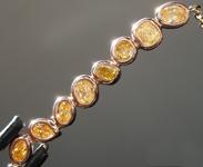 0.65ctw Fancy Colored Diamond Necklace R8815