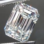 SOLD....3.01ct K VS1 Emerald Cut Diamond R8950