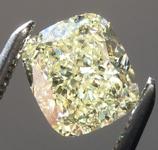 SOLD...1.13ct W-X VVS1 Cushion Cut Diamond R8966