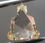 SOLD....1.61ct Brownish Yellow SI2 Buddha Diamond R8985