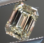 SOLD...0.95ct U-V VS2 Emerald Cut Diamond R9015