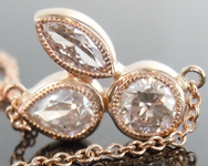 1.25ctw Fancy Color Diamond Pendant R8982