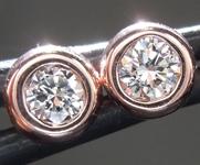 0.20ctw G VS1 Round Brilliant Diamond Earrings R8972