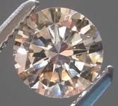 0.89ct Y-Z (Brown) I1 Round Brilliant Diamond R9003