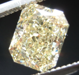 SOLD...1.51ct Y-Z VS2 Radiant Cut Diamond R9060