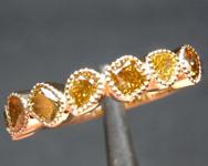 1.02ctw Greenish Yellow Diamond Ring R8951