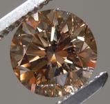 1.50ct Fancy Brown VS1 Round Brilliant Diamond R9064