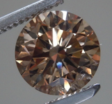 1.89ct Brown VS1 Round Brilliant Diamond R9065