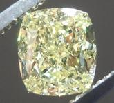 1.26ct Fancy Yellow VS1 Cushion Cut Diamond R8996