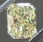 SOLD.....1.30ct Fancy Yellow VVS2 Radiant Cut Diamond R8998