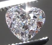 0.80ct Pink SI1 Heart Shape Diamond R9076