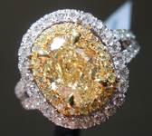 SOLD.....1.55ct Y-Z VS1 Oval Shape Diamond Ring R9081