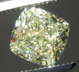 SOLD....2.14ct Y-Z VVS2 Cushion Cut Diamond R9091