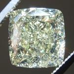 4.33ct Y-Z IF Cushion Cut Diamond R9103