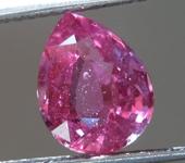 2.35ct Pink Pear Shape Sapphire R9129