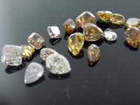 2.87ctw Fancy Color Diamond Parcel R9131