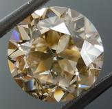 3.02ct Brown I1 Circular Brilliant Diamond R9141
