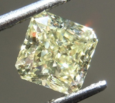 0.51ct Yellow VS2 Radiant Cut Diamond R9252