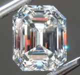 3.33ct J VS1 Emerald Cut Diamond R9262