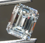 1.14ct F IF Emerald Cut Diamond R9263