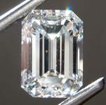 2.04ct G VVS1 Emerald Cut Diamond R9305