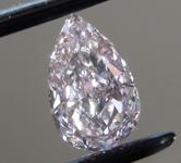 0.53ct Pink VS1 Pear Shape Diamond R9310