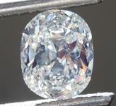 1.00ct L SI2 Cushion Cut Diamond R9334
