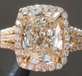 1.70ct J SI1 Cushion Cut Diamond Ring R9335