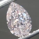 0.40ct Pink SI2 Pear Shape Diamond R9360