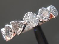 1.33ctw Light Gray Diamond Ring R8954