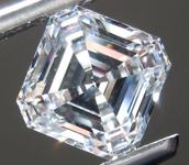 2.02ct F VS1 Asscher Cut Lab Grown Diamond R9365