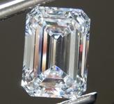 2.51ct E VS1 Emerald Cut Lab Grown Diamond R9366