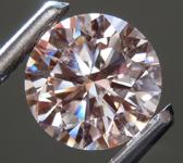 SOLD....2.28ct Pink VS1 Round Brilliant Lab Grown Diamond R9400