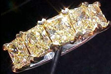 Diamond Band- 1 3/4Ct Tw Diamond Band-Heart Shaped Common Prongs R1402
